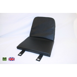 ALE739B - English Black Moke Seat Cushion