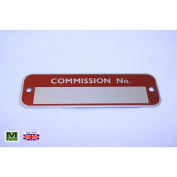 6 - Commission Plate