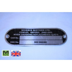 5 - Morris Chassis Plate