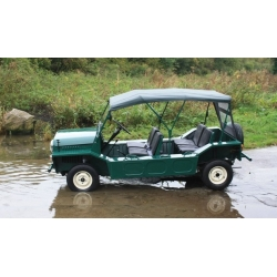 ALE0737G - English Mini Moke Hood - Brand New Remanufactured Green
