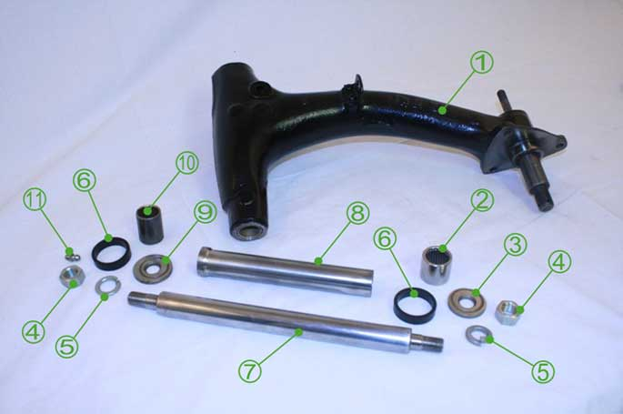 Moke Radius Arm Kit