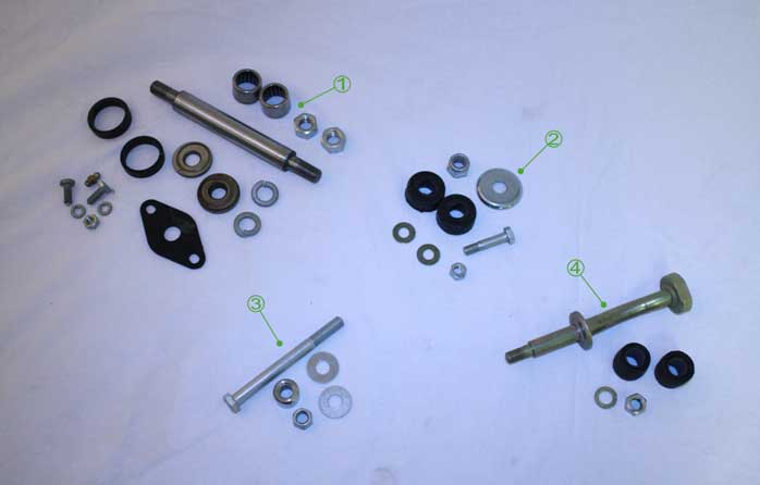 Moke Front Suspension Service Kits